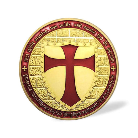 templar cross coin