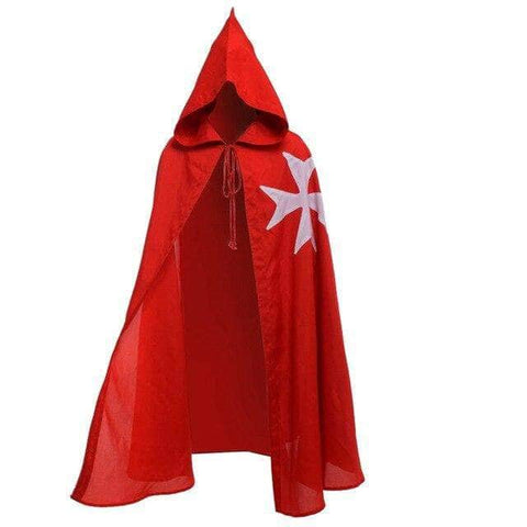 Knights Templar Outfit Red Teutonic Cloak
