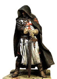 Knights Templar Figurine Seasoned Knight