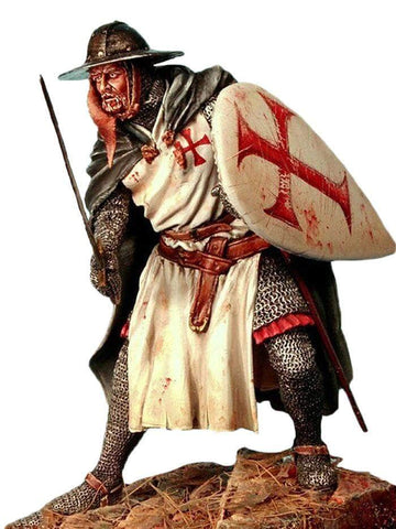 Knights Templar Figurine Templar Cross
