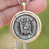 saint michael necklace meaning