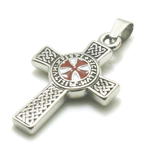Knights Templar Necklace Latin Cross