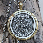 saint michael pray for us necklace