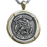st michael the archangel necklace
