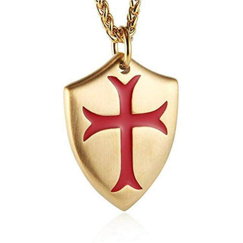 Templar Symbol Necklace
