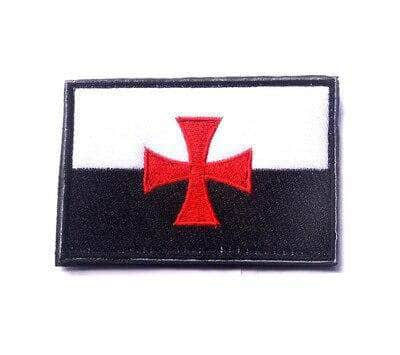 Knights Templar Patch Order's Flag