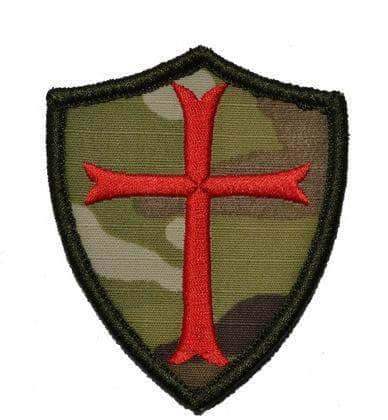 Knights Templar Patch Military Shield