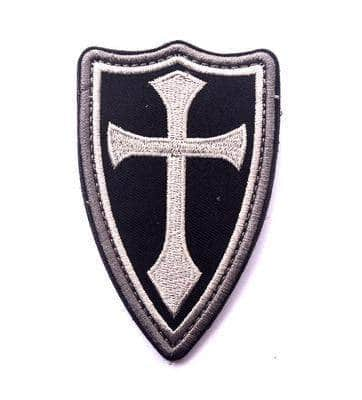 Knights Templar Patch Shield of the Order