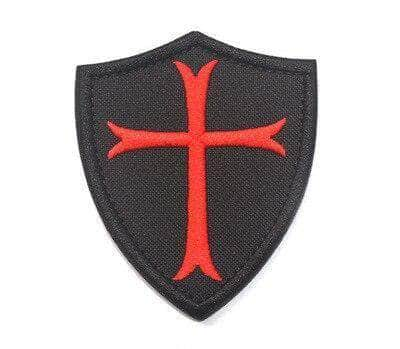 Knights Templar Patch Temple's Shield