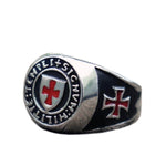 Knights Templar Ring New Militia