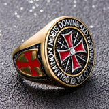 Knights Templar Ring Da Gloriam