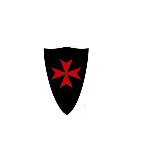 Knights Templar Sticker Maltese Cross