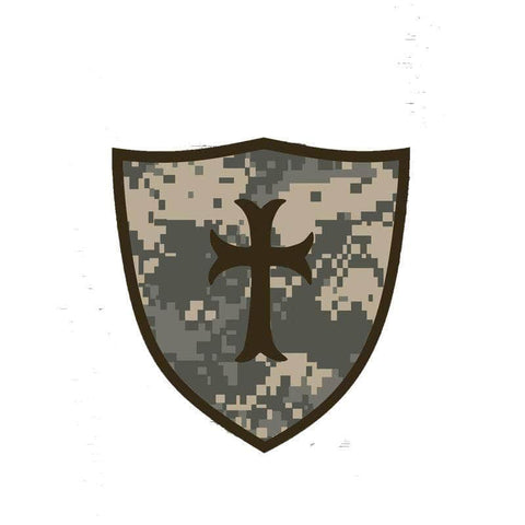 Knights Templar Sticker Military Order