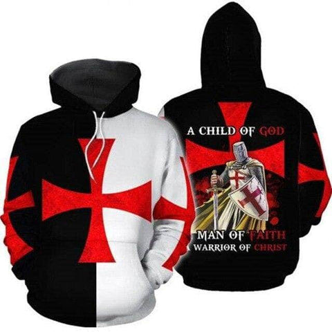Knights Templar Sweatshirt A Child of God