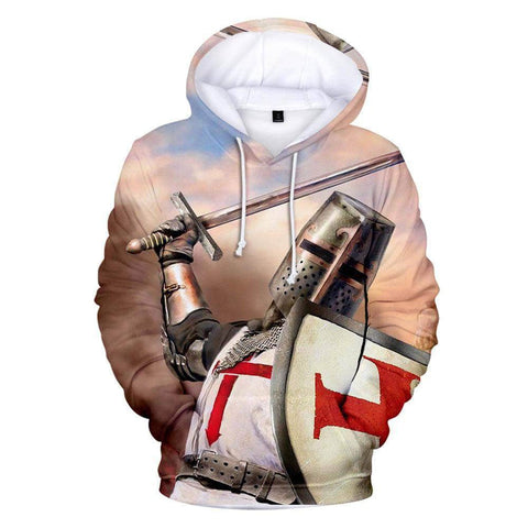 Knights Templar Sweatshirt Determined