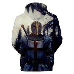 Knights Templar Hoodie<br> Fighter