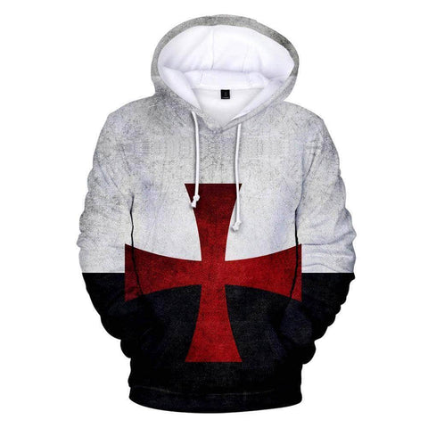 Knights Templar Sweatshirt Templar Cross