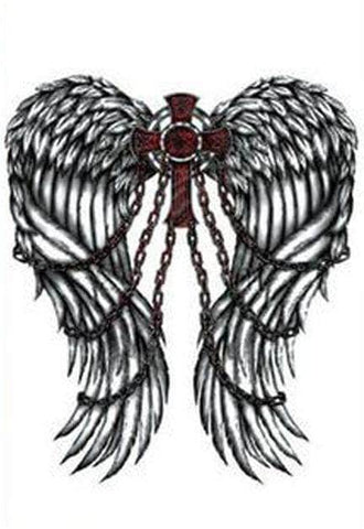 Knights Templar Tattoo Chained Angel