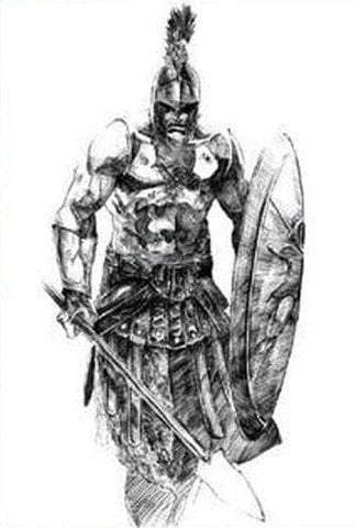 Knights Templar Tattoo Determined