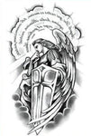 Temporary Tattoo Archangel Michael
