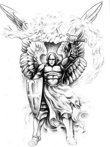 Knights Templar Tattoo Warrior Angel