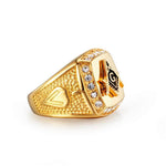 Freemason Ring Zirconia
