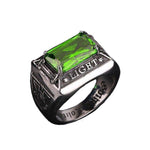 Masonic Ring Green Light