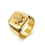 Masonic Ring High Rank