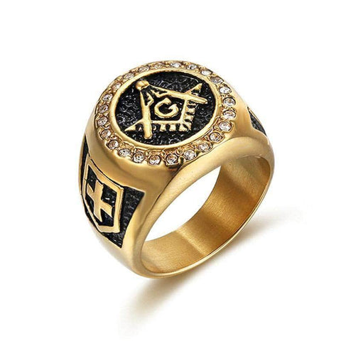 Masonic Ring Robert Moray Gold