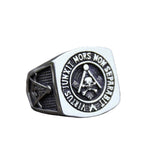Masonic Ring Virtus