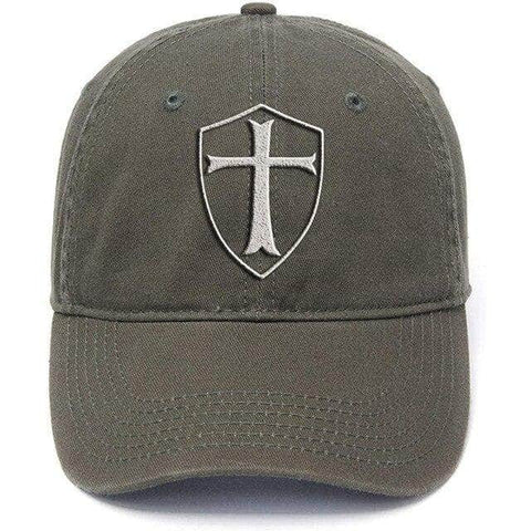 Knights Templar Hat<br> Green
