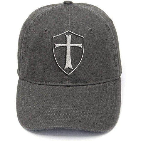 Knights Templar Hat<br> Grey