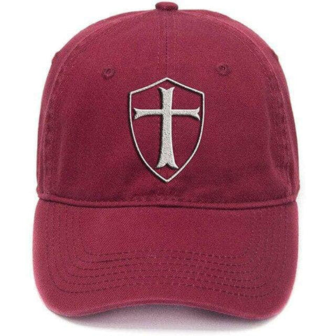 Knights Templar Hat<br> Red