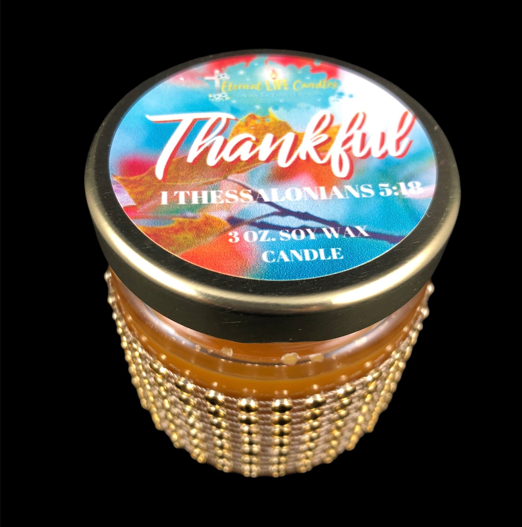 Thankful Favored Candle