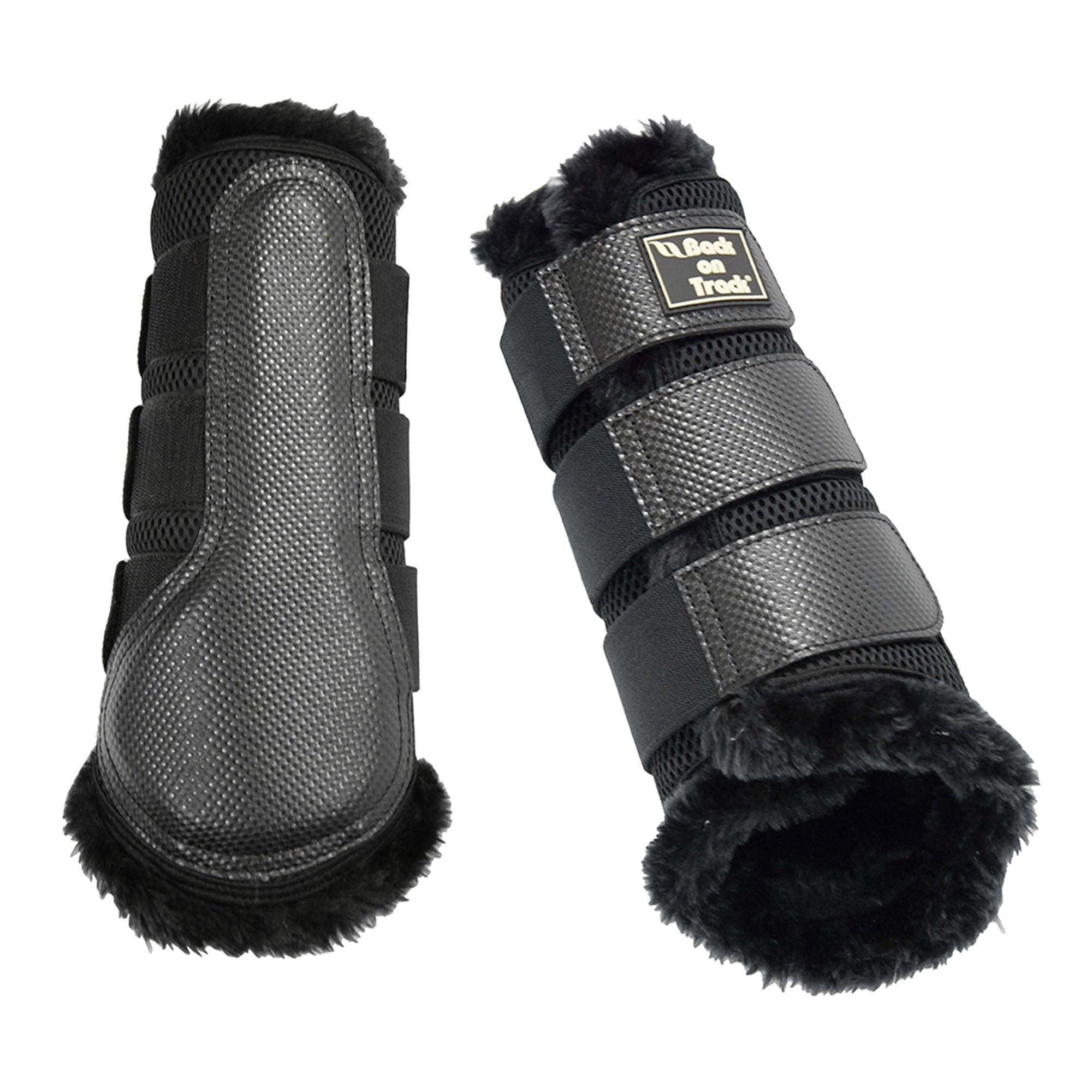 Brush boot 3D mesh fur - Back on Track Sverige (5300214628507)