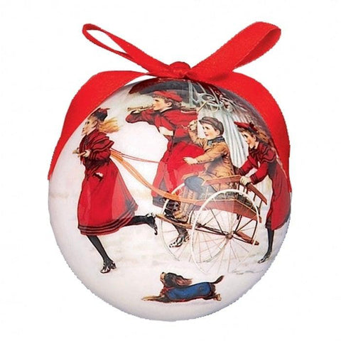 Christmas Bauble Victorian Children-Christmas Decoration-Premier-Thursford Enterprises Ltd.