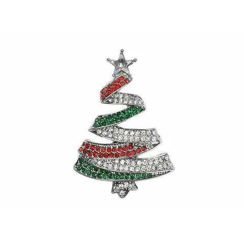 Christmas Tree Brooch-Jewellery-Indulgence-Thursford Enterprises Ltd.