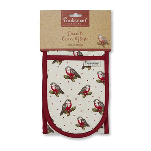 Double Oven Glove - Red Red Robin-Homeware-City Look-Thursford Enterprises Ltd.