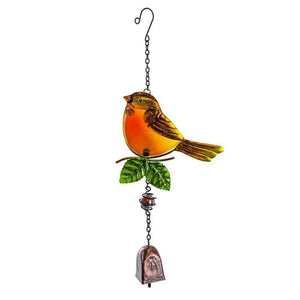 Garden Bell - Robin-Garden Ornaments-Fountasia-Thursford Enterprises Ltd.