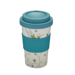 Bamboo Travel Mug - Hummingbirds-Mother's Day Gifts-City Look-Thursford Enterprises Ltd.