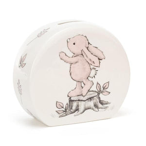 Bashful Bunny Pink Money Box-Baby Gifts-Jellycat-Thursford Enterprises Ltd.