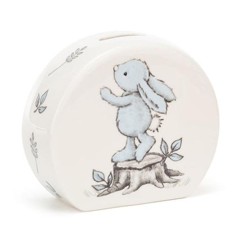 Bashful Bunny Blue Money Box-Baby Gifts-Jellycat-Thursford Enterprises Ltd.