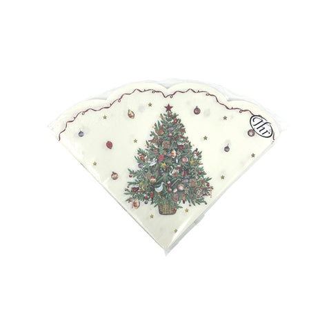 Paper Napkins Christmas Tree-Homeware-Ideal Home Range-Thursford Enterprises Ltd.