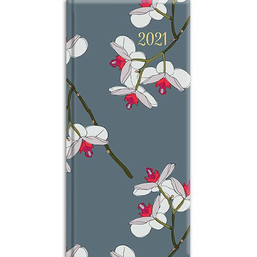 Pocket Diary - Orchids-Stationery-The Gifted Stationery-Thursford Enterprises Ltd.