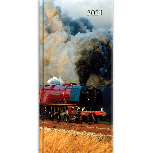 Pocket Diary - Steam Train-Stationery-The Gifted Stationery-Thursford Enterprises Ltd.
