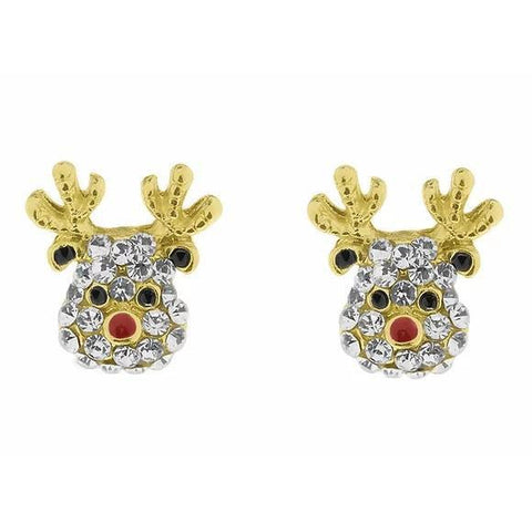 Rudolph Earrings-Jewellery-Indulgence-Thursford Enterprises Ltd.