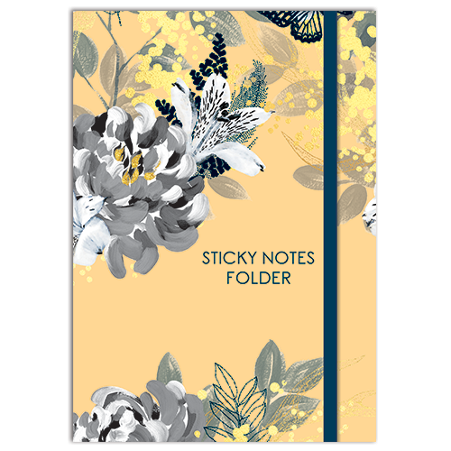 Sticky Notes Folder - Bee Wild-Stationery-The Gifted Stationery-Thursford Enterprises Ltd.