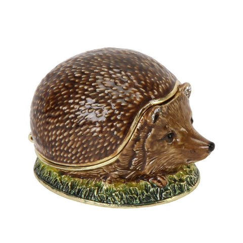 Treasured Trinket Hedgehog-Ornament-Widdop-Thursford Enterprises Ltd.
