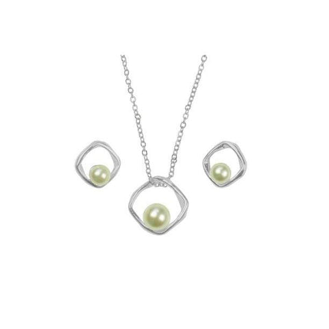 Pearl Necklace & Earring Set-Jewellery-Indulgence-Thursford Enterprises Ltd.