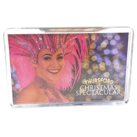 Fridge Magnet Showgirl-Homeware-Thursford Enterprises Ltd.-Thursford Enterprises Ltd.